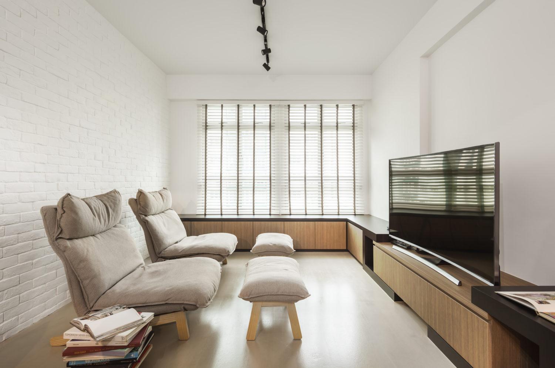 Fernvale Minimalist HDB Apartment Renovation